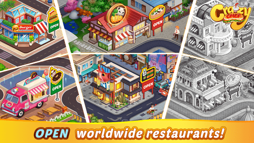 Crazy Chef: Fast Restaurant Cooking Games apkslow screenshots 4