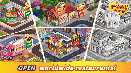 Crazy Chef Mod Apk 1.1.61 (Unlimited Currency) 4
