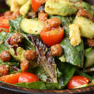 Roasted Chickpea and Avocado Salad Recipe