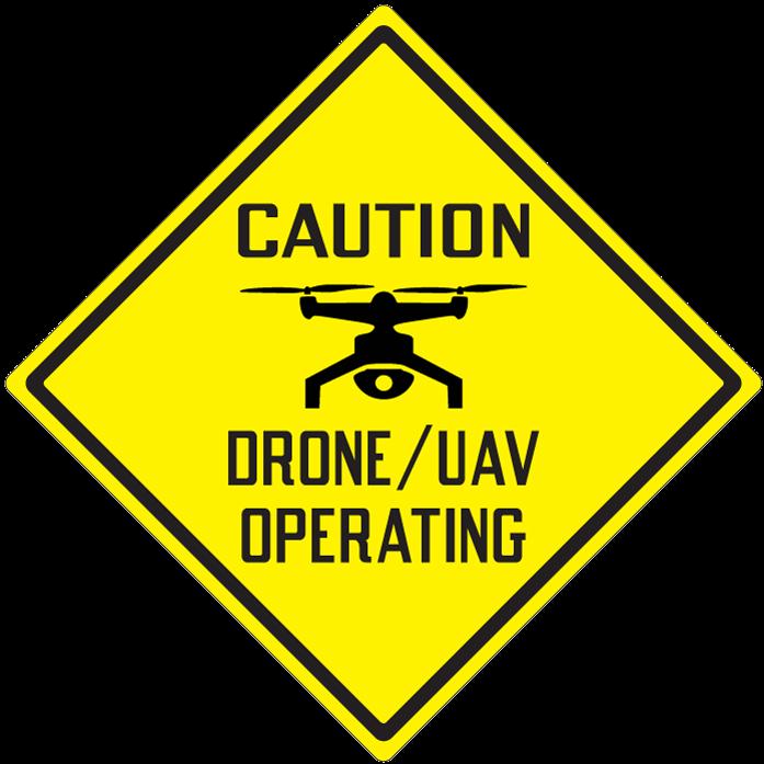 Drone Caution