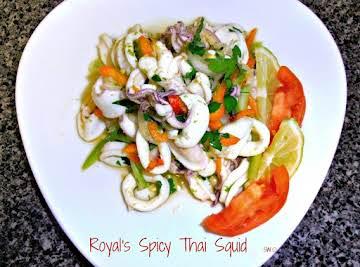 Royal's Spicy Thai Squid Salad