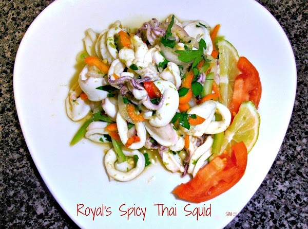 Royal's Spicy Thai Squid Salad Recipe