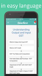 GST Tax Return E-Filing Knowledge - náhled
