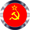 Soviet Button Communism Anthem of USSR full length icon