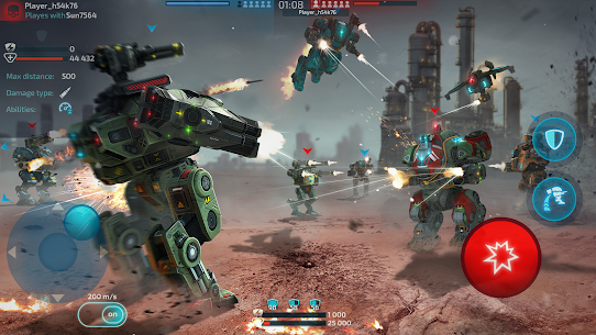 Robot Warfare: Mech Battle 3D PvP FPS For PC Windows 10 & Mac 6