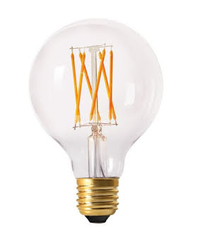 PR Home Elect LED Filament Globe 80 mm Klar - lavanille.com