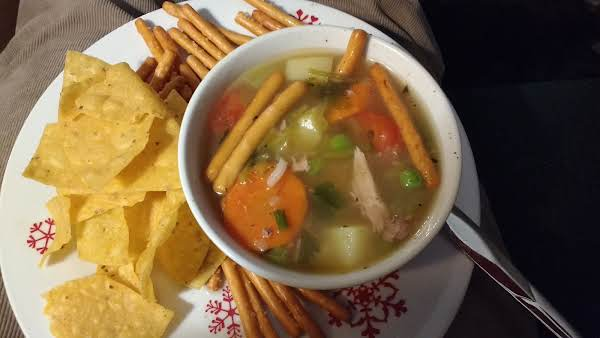Giblet Broth Soup Recipe