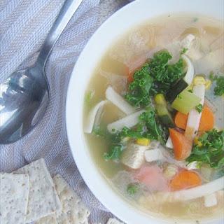 Gluten Free Turkey Noodle Soup