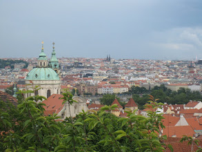 Photo: The view from Prague Castle