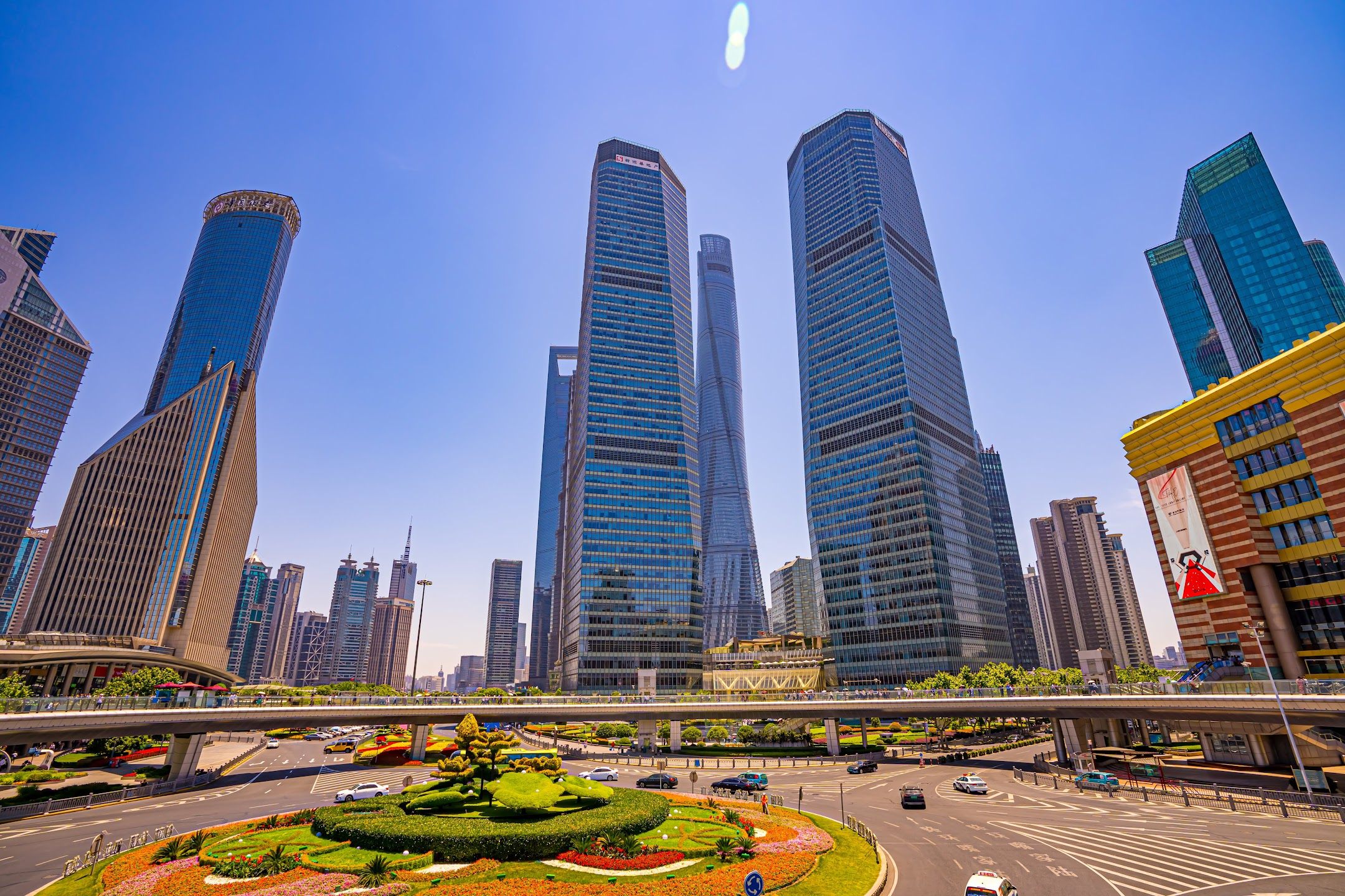 Shanghai Lujiazui Circle overpass1