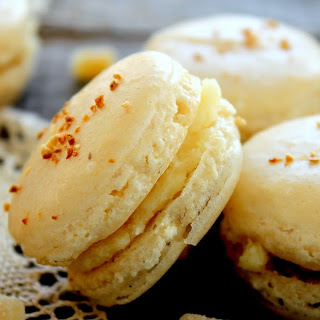 Ginger Macarons with Orange Sugar Buttercream
