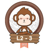 Yoga Monkey Free Fitness L2-3