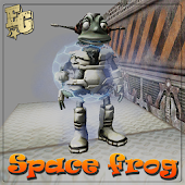 Crazy Jumping Space Frog
