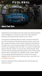 Fuel Tank- screenshot thumbnail