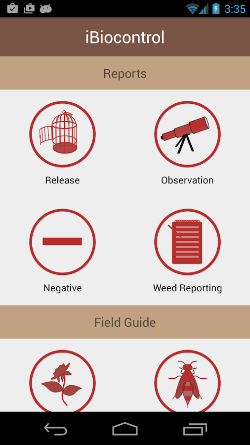 iBioControl - screenshot