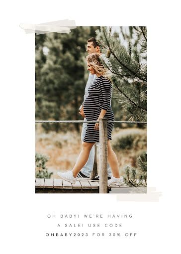 We're Having a Sale - Photo Card Template