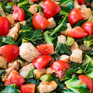 Pork and Greens Stir Fry