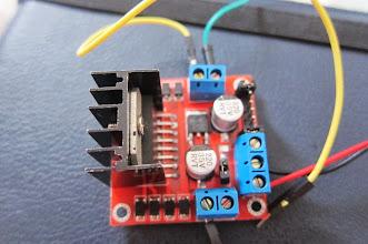 Photo: motor driver module