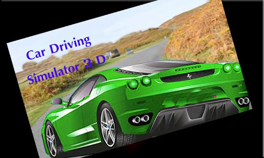 Car Driving Simulator 3D screenshot 1