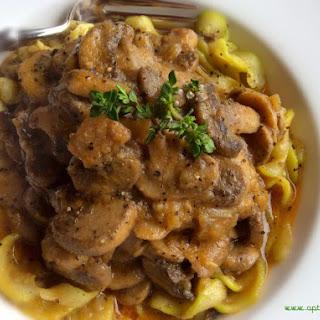 Hearty Vegan Mushroom Stroganoff (dairy & Grain-free)