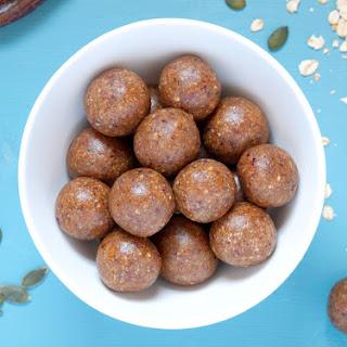 Oat, Date & Peanut Butter Power Balls.