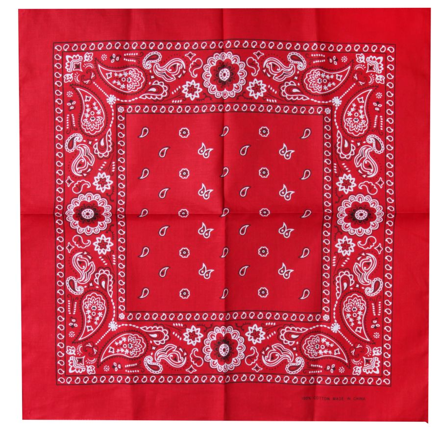 100% cotton double-sided print bandana Image