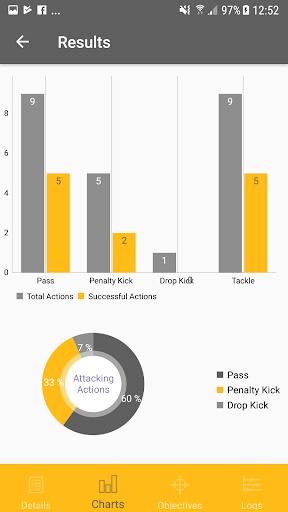 Rugby StatKeeper 1.7 screenshots 4