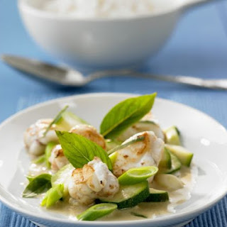 Green Curry Monkfish