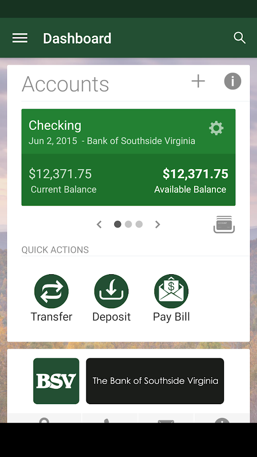 BSV Mobile- screenshot