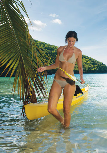Book a kayak and explore the pristine coves of St. John, U.S. Virgin Islands.