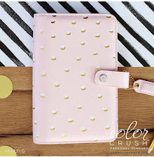 Websters Pages Personal Planner Kit - Blush/Gold
