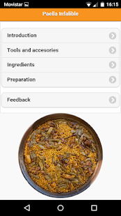 Paella Infalible- screenshot thumbnail
