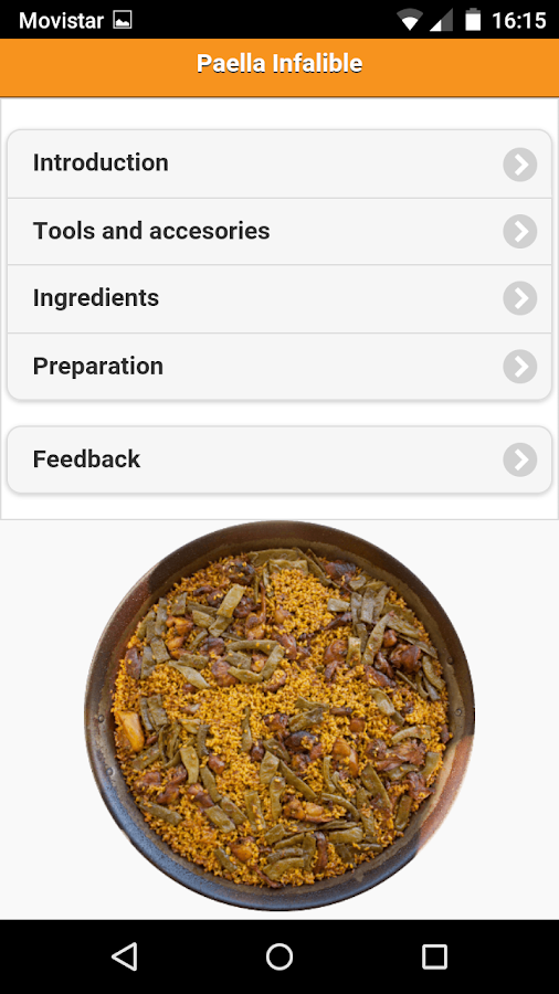 Paella Infalible- screenshot