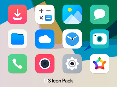O3 Free Icon Pack – Square UI v6.6 [Patched] 1