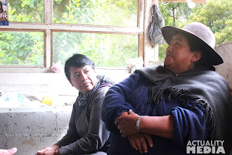 Photo: The FCT crew visiting locals in Sangay National Park