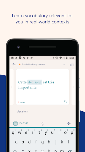 Lingvist: Learn Spanish, French, German & more! Android App Screenshot