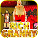 Scary Rich granny 3 - The Horror Game 2019 icon