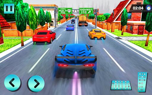 Voiture Courses dans Vite Autoroute Trafic  captures d'écran 1