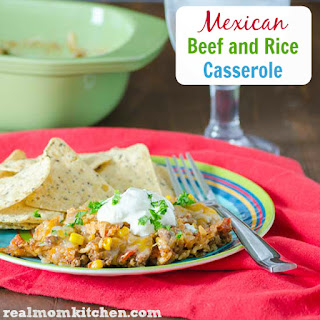 Mexican Beef and Rice Casserole.