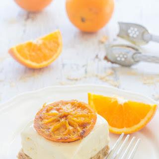 No Bake Orange Cheesecake Bars
