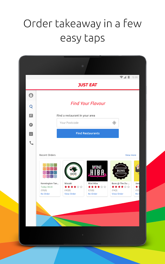 Just Eat - Takeaway delivery- screenshot