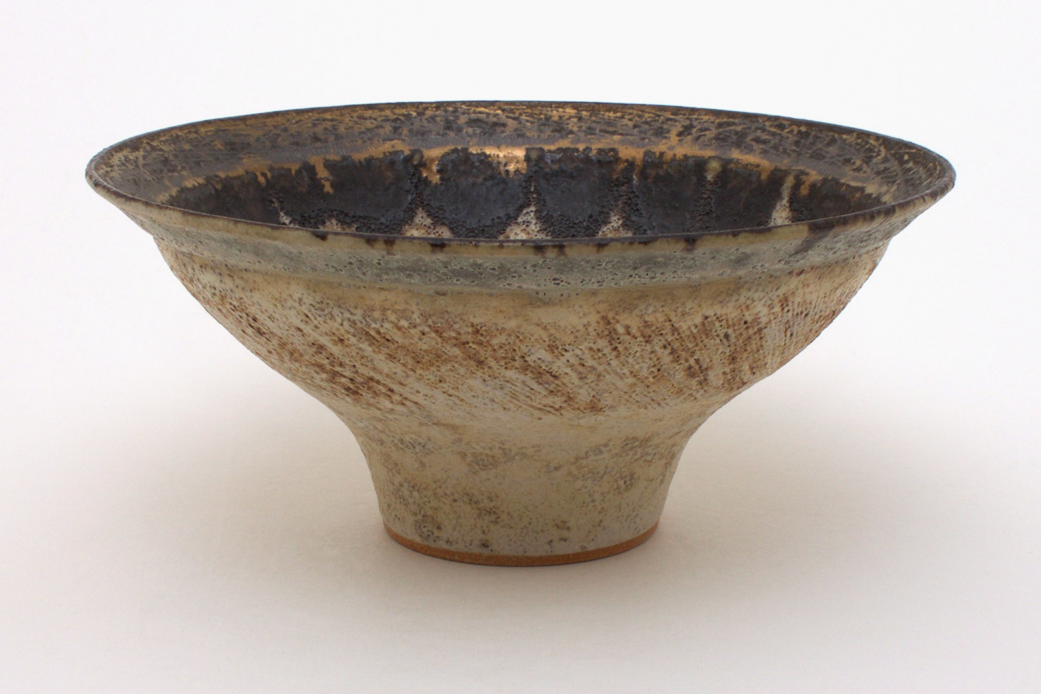 Chris Carter Ceramic Flared Bowl 034