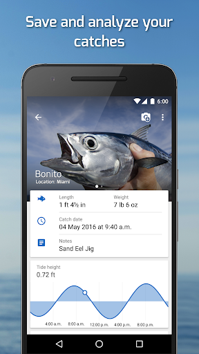 Fishing Points: GPS, Tides & Fishing Forecast screenshot
