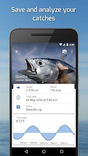 Fishing Points: GPS, Tides & Fishing Forecast - náhled
