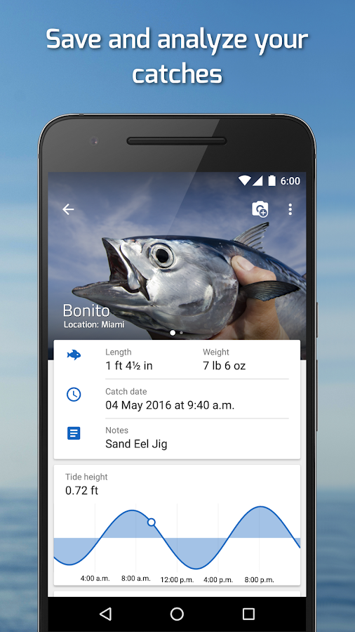 Fishing Points: GPS, Tides & Fishing Forecast- screenshot