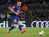 Thomas Vermaelen ziet collega in de verdediging van Barça uitvallen