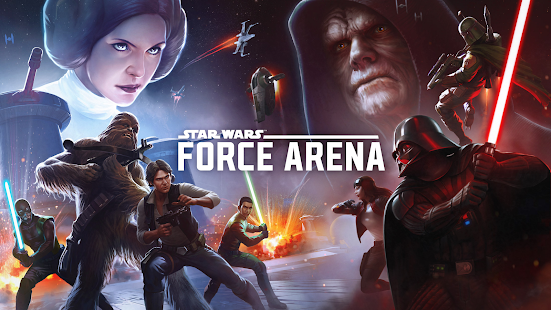 Star Wars: Force Arena screenshot 1