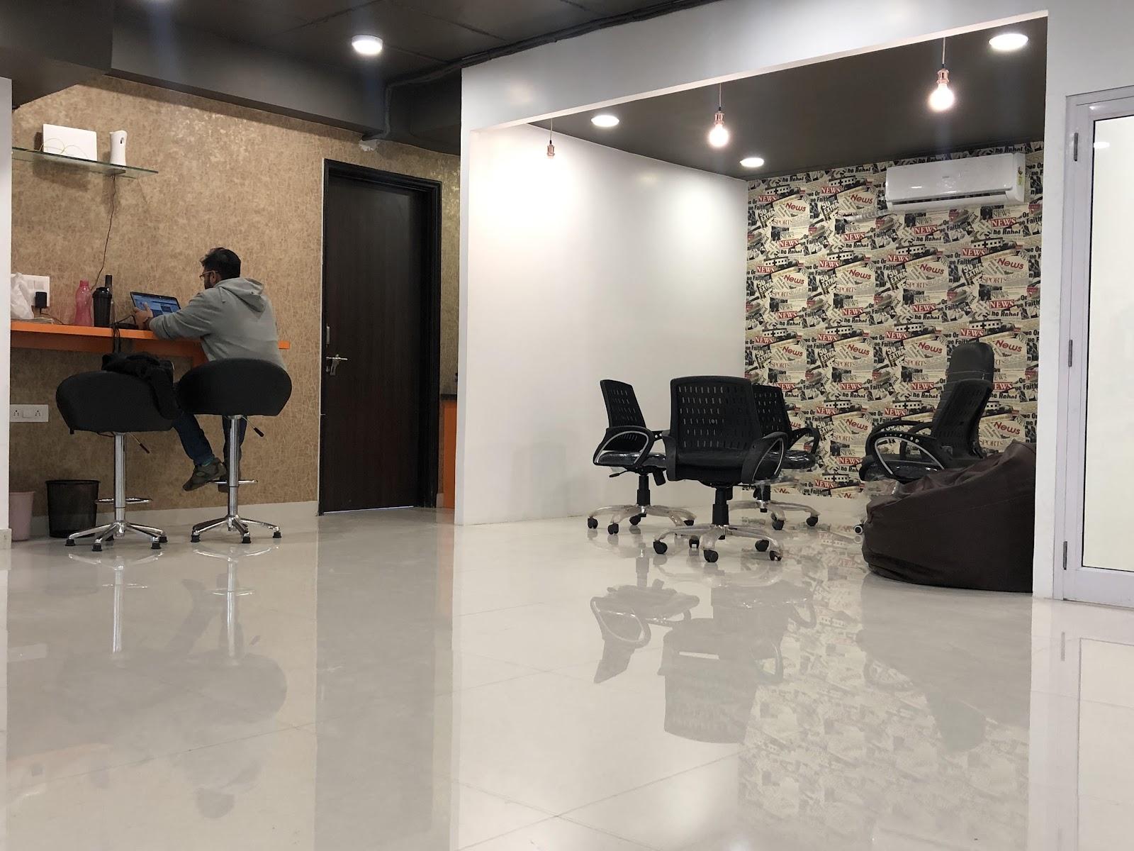 Urban Excubator Coworking Space in Jaipur