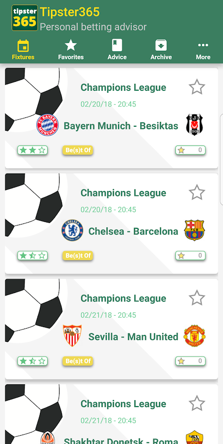 Tipster365- screenshot