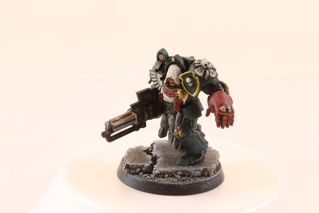 Terminator #1, painted